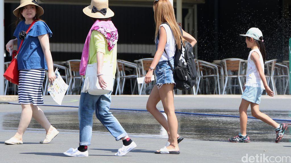 1,4 Juta Wisman Sambangi RI di Agustus, Mayoritas dari China