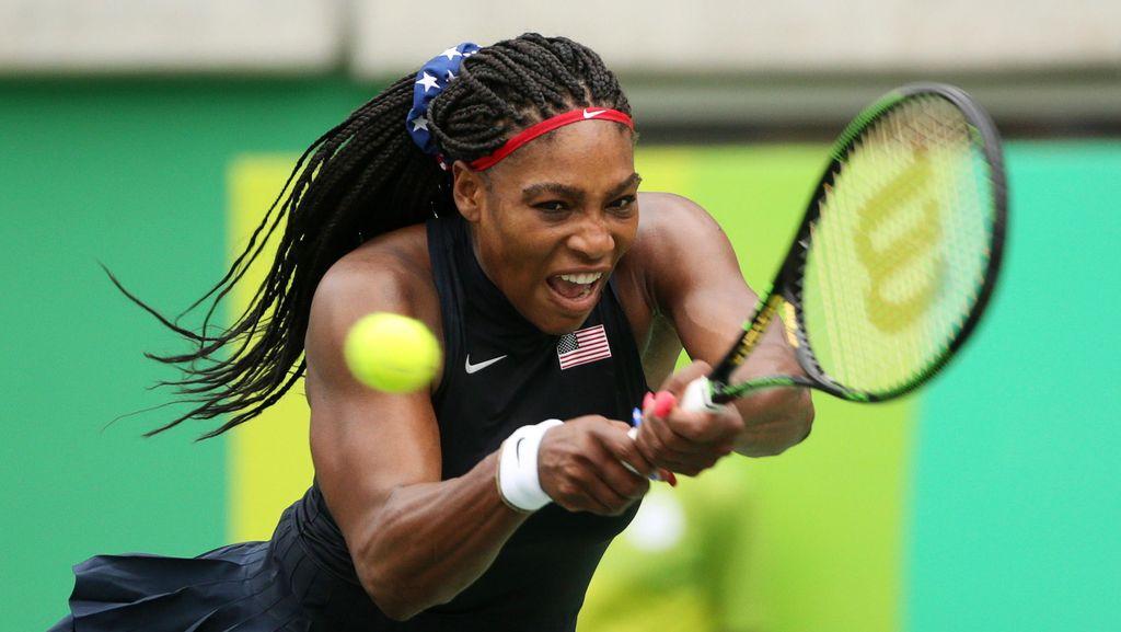 Serena Melangkah ke Babak Kedua