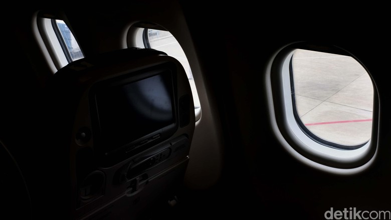 Ilustrasi jendela pesawat (Dikhy/detikFoto)