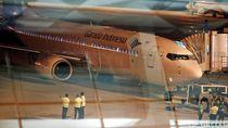 Penerbangan Perdana Pesawat Garuda dari Terminal 3