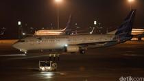 Perdana! 2 Pesawat Garuda Terbang dari Terminal 3 ke Indonesia Timur
