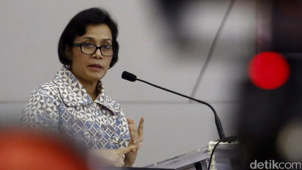 Sri Mulyani Rapat Tertutup di DPD