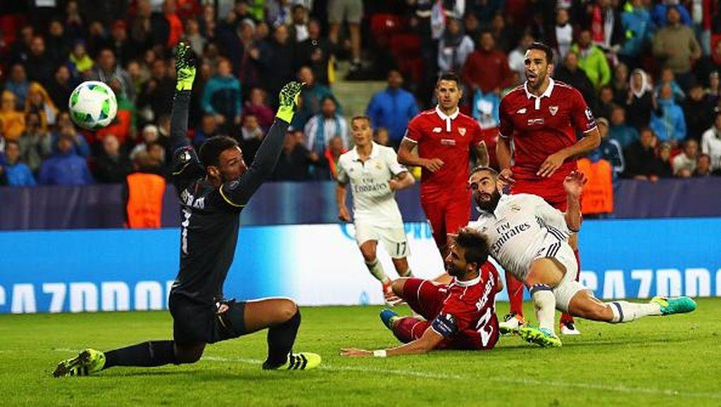 Madrid Juara Usai Tundukkan Sevilla Lewat Extra Time