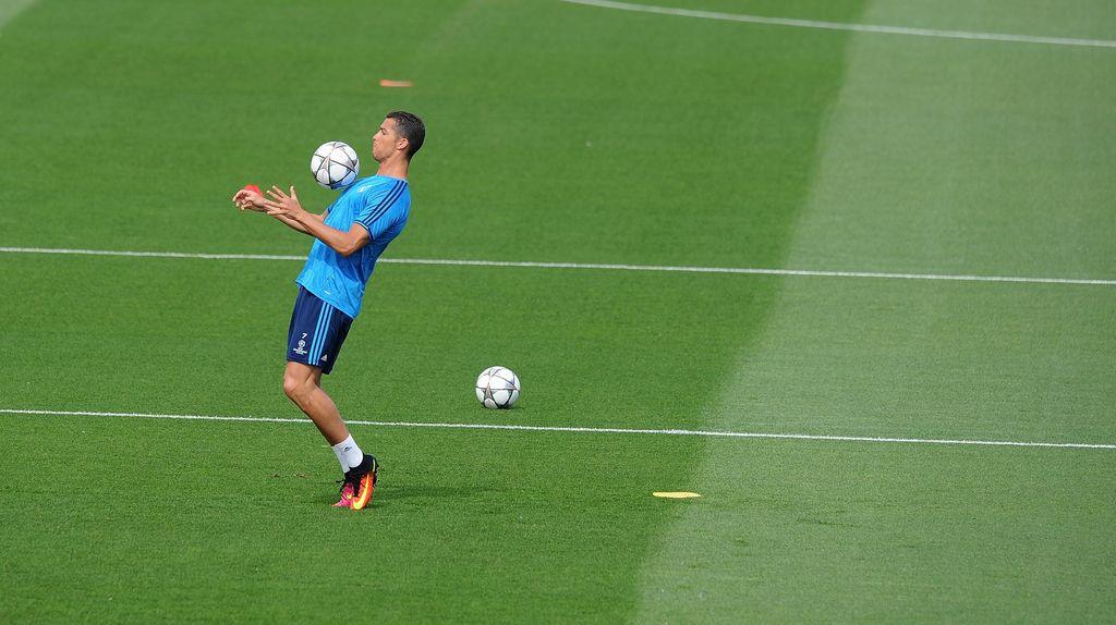 Libur Telah Usai, Ronaldo Kembali Berlatih