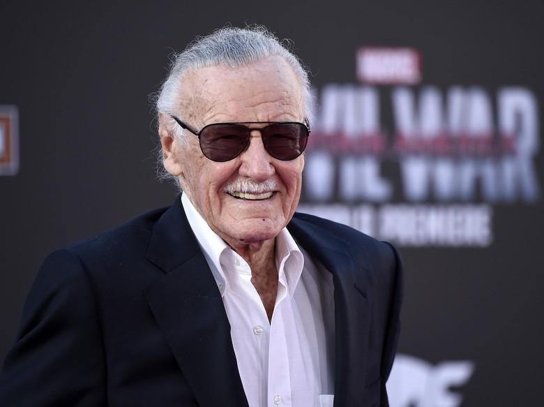 Stan Lee Rayakan Ultah ke-95