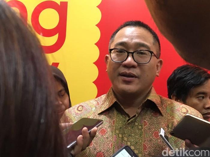 CEO Indosat Alexander Rusli (Foto: detikINET/Achmad Rouzni Noor II)