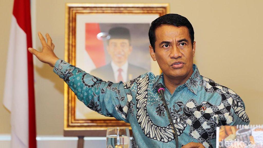 Lapor Kondisi Pangan ke Jokowi, Mentan: Stok Aman