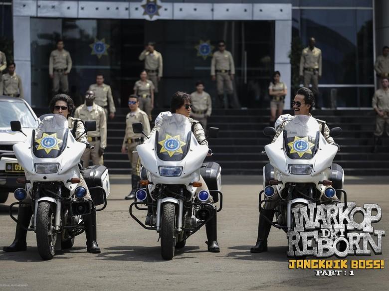 Warkop DKI Reborn Geser Rudy Habibie di Box Office Film Indonesia