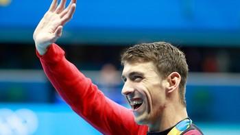 Phelps Si Dewa Olimpiade