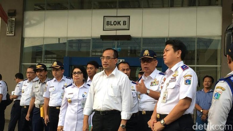 Menhub Cek Lokasi Groundbreaking Jalur Ganda KA Bogor-Sukabumi