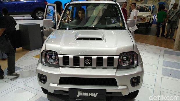 Suzuki Jimny di Gaikindo Indonesia International Auto Show (GIIAS) 2016