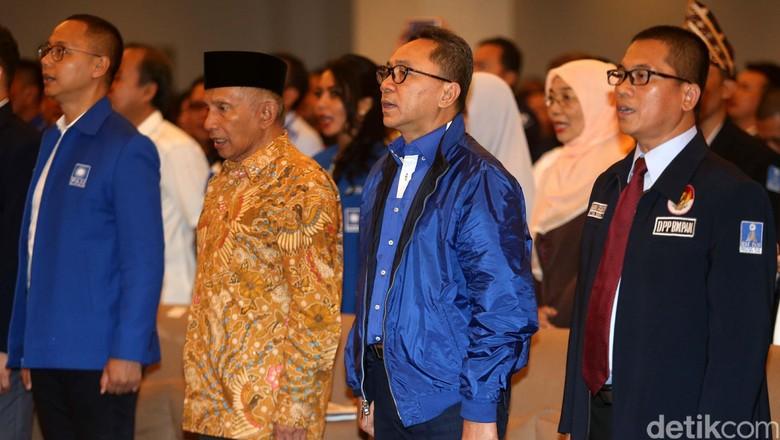 Beda Sikap Amien Rais dan Zulkifli Hasan Soal Dukungan ke Jokowi