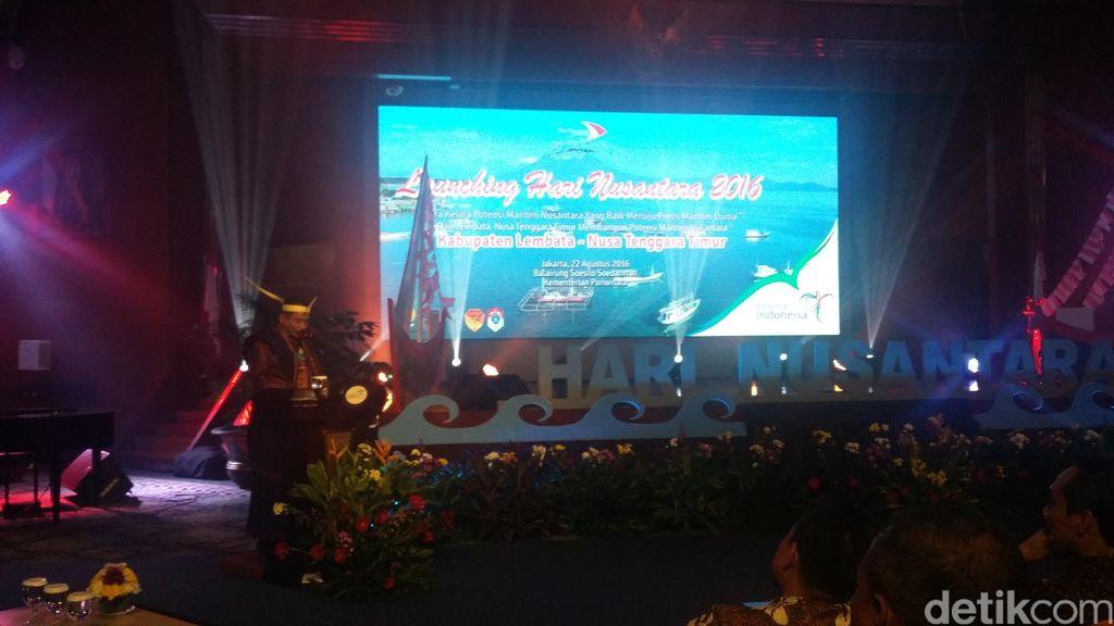 Gubernur NTT: Hari Nusantara untuk Tunjukkan Indonesia Negara Maritim