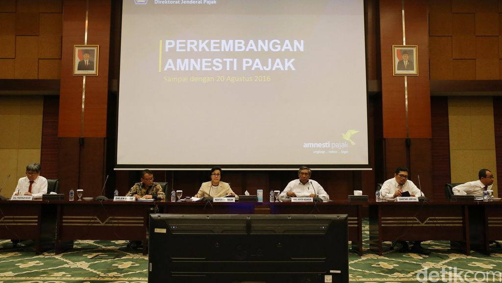 Menkeu Sri Mulyani Update Data Tax Amnesty