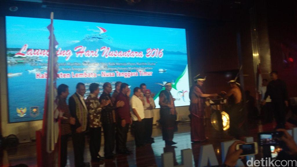 Launching Hari Nusantara 2016, Menpar: Untuk Wujudkan RI Poros Maritim Dunia