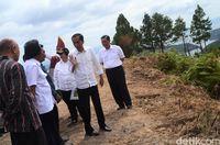 Jokowi ingin Danau Toba menjadi salah satu destinasi wisata unggulan Indonesia