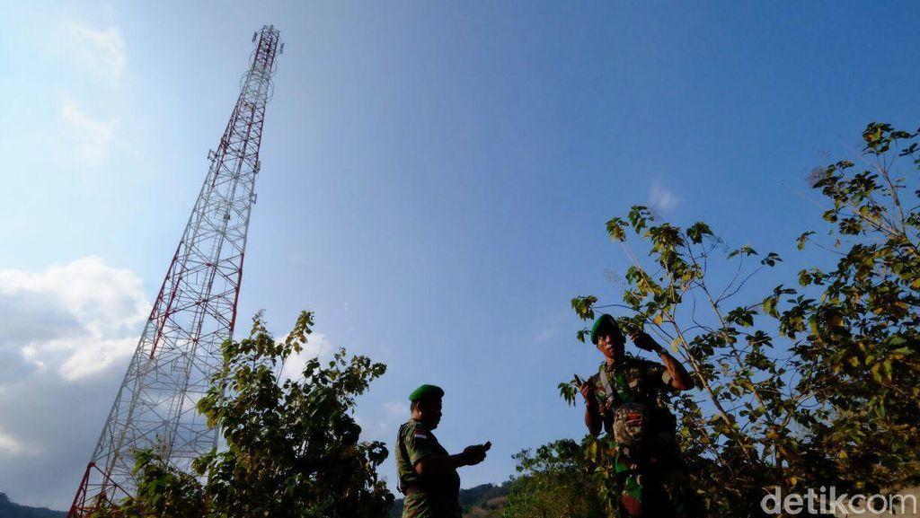 Misi Telkomsel dan Dua Pangdam Memerdekakan Wilayah Terisolir