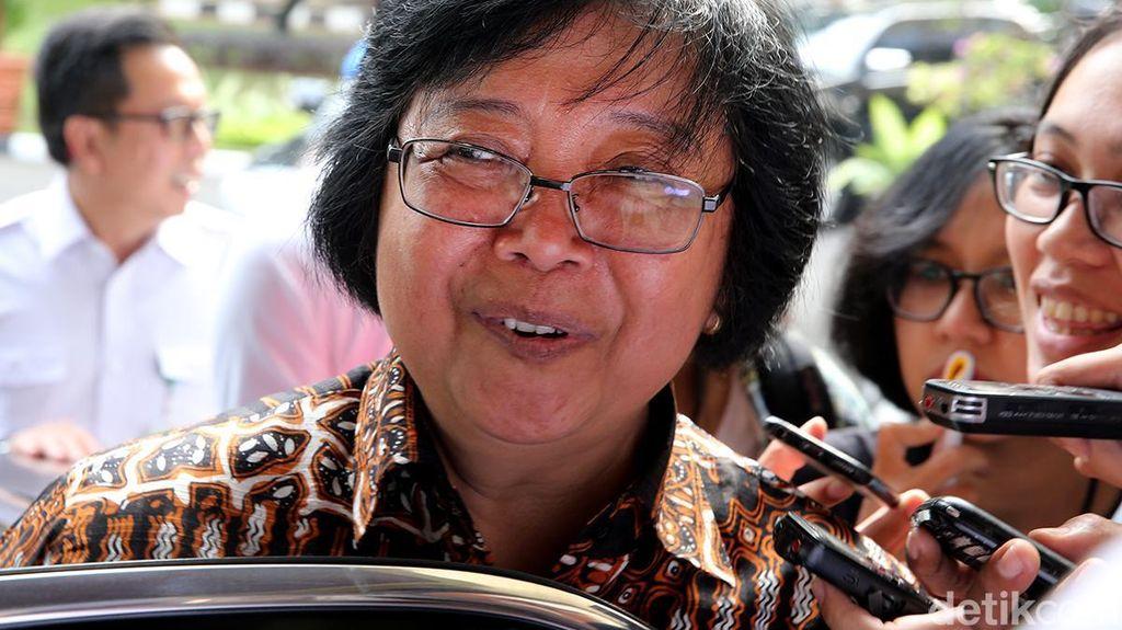 Merapat ke Kantor Luhut, Menteri LHK Bahas Masalah Sampah di Bali