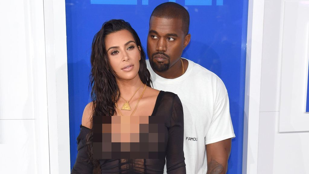 Kanye West Pamer Foto Bersama Kim Kardashian Pasca Keluar dari RS