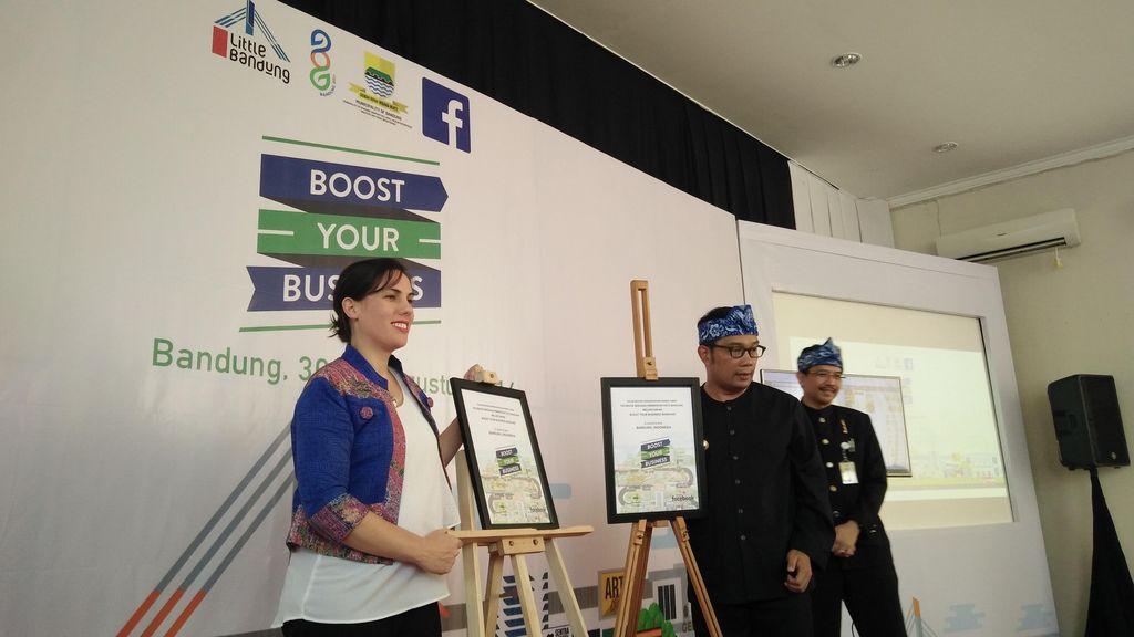 Facebook Dorong UKM Bandung Tembus ASEAN