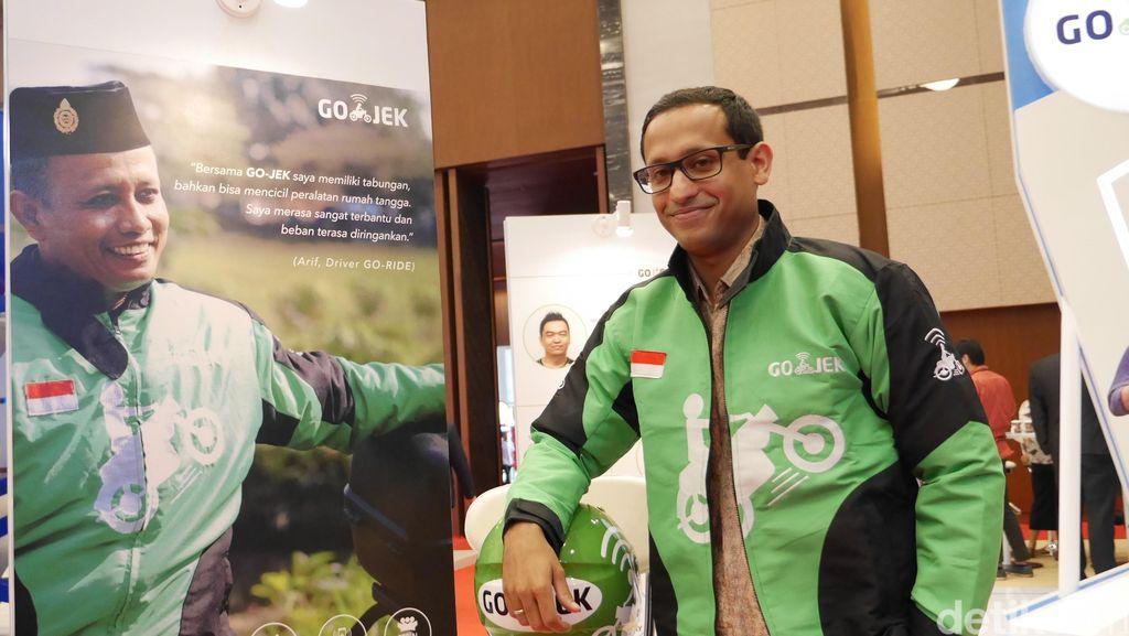 Bos Go-Jek Bahagia Larangan Sepeda Motor di Jakarta Dicabut
