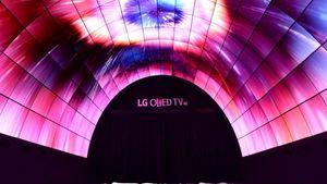 Terowongan Futuristik LG Hadir di Berlin