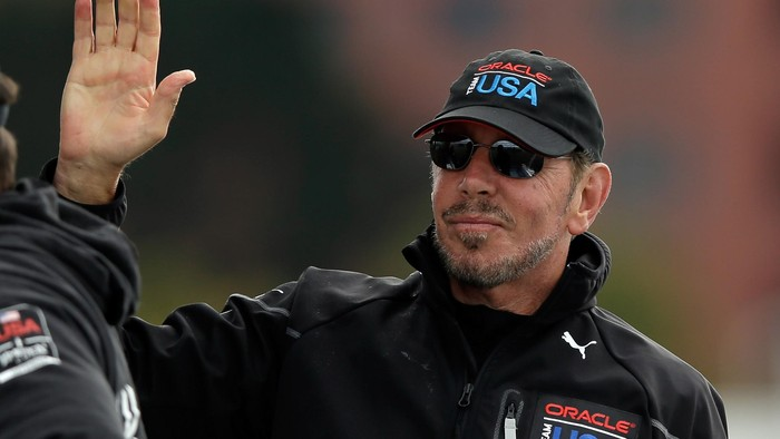 Larry Ellison. Foto: Ezra Shaw/Getty Images