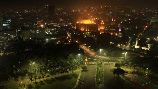 Masjid Istiqlal dan Katedral (Randy/detikTravel)
