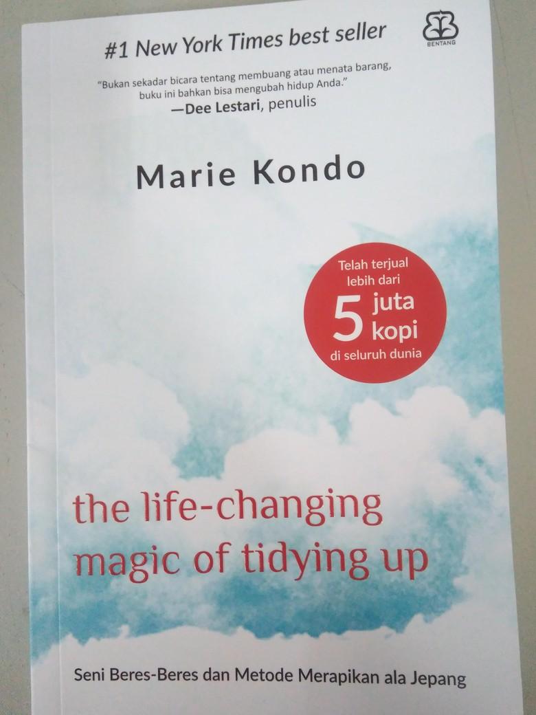 Buku Seni Metode Merapikan ala Marie Kondo Kini Hadir di Indonesia