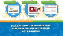 300 PKL Ikut Meriahkan Bandung Great Sale
