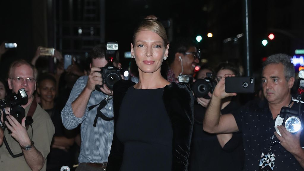 Uma Thurman Ucapkan Thanksgiving, Kecuali Buat Harvey Weinstein
