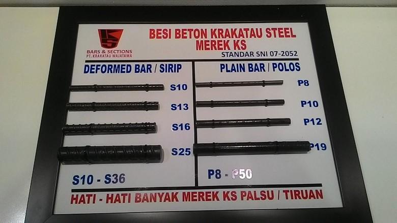 Krakatau Steel Bidik Penjualan Baja Naik 40% Jadi 2,8 Juta Ton di 2018