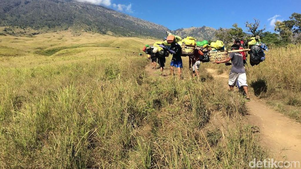 Ini Imbas Setelah Gunung Rinjani Disahkan Jadi Geopark Dunia