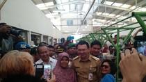 Ahok Resmikan Pasar Kebon Bawang Tanjung Priok, Puluhan Polisi Berjaga-jaga