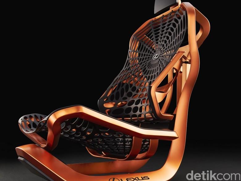 Lexus Punya Kursi Seperti Jaring Laba-laba