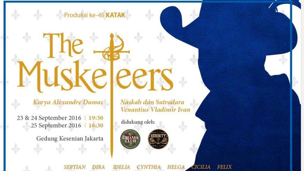 Perkumpulan KataK Independen Pentaskan The Musketeers di GKJ