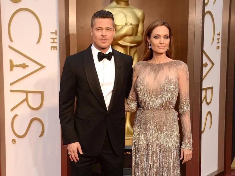 Jolie Buka-bukaan Soal Perceraian, Brad Pitt Dikabarkan Kecewa