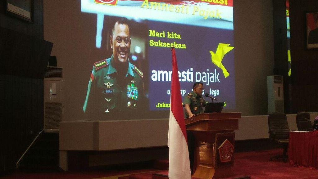 Jenderal Wajib Ikut Tax Amnesty, Panglima TNI: Kan Punya Penghasilan Tambahan