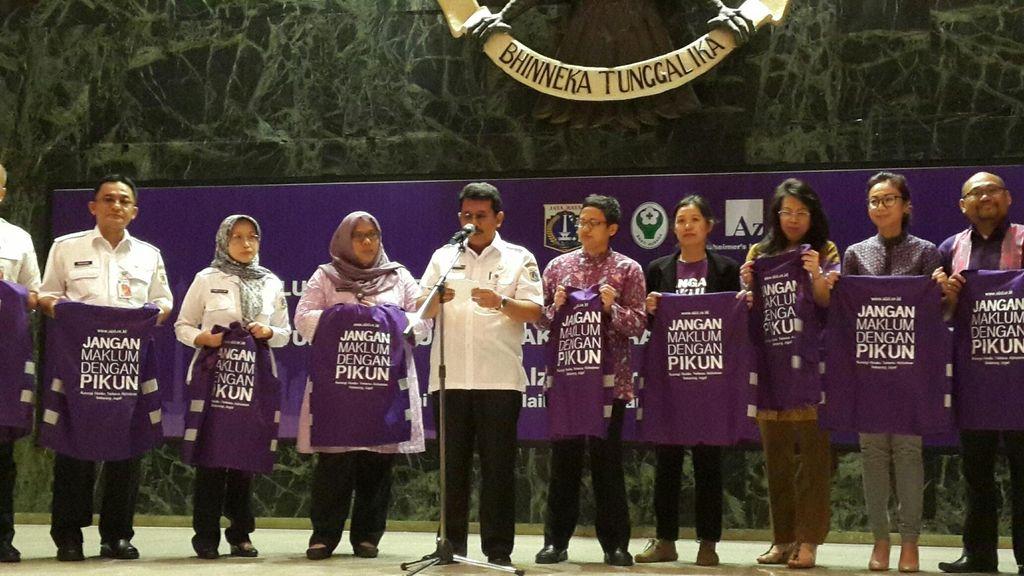 Pasukan Ungu Ini Siap Wujudkan Jakarta Kota Ramah Lansia