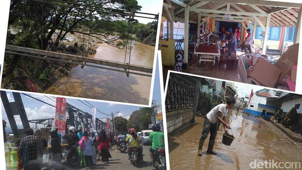 Mobil Klinik Indosat Sambangi Korban Banjir di Garut