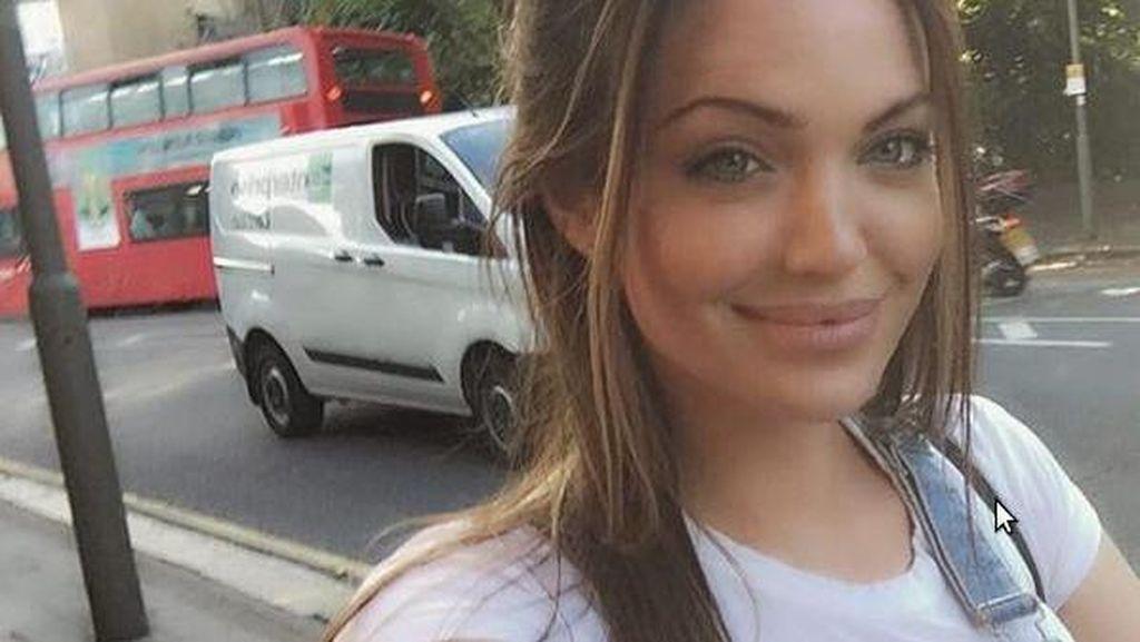 Jolie Gugat Cerai, Wanita Cantik yang Disebut Kembarannya Ini Makin Populer