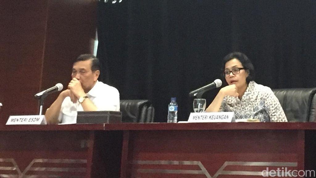Bahas Dana Babinsa, Sri Mulyani dan Panglima TNI ke Kantor Luhut