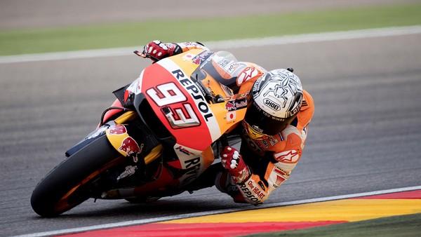 Marquez Sempat Sulit Konsentrasi Setelah Rossi dan Lorenzo <I>Out</I>