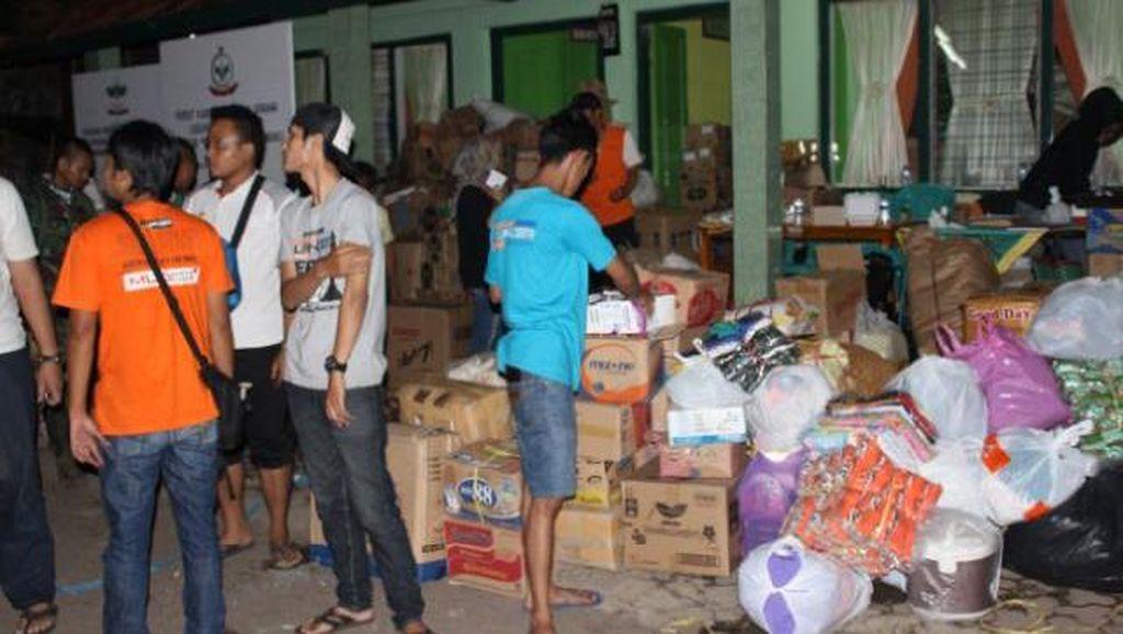 Komunitas Lancer Bantu Korban Banjir Bandang Garut