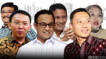 Adu Gagasan Timses Ahok, Agus, dan Anies Soal Penggusuran di Jakarta