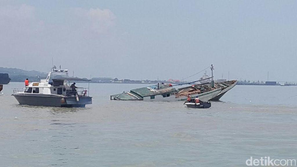 Perahu Motor Karam di Perairan Pangkep, 6 Orang Tewas