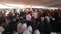 Jokowi: Rusun akan Dibangun untuk Korban Banjir Bandang Garut