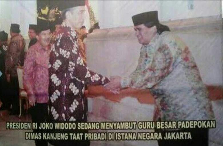 Kata Marwah Daud soal Foto Dimas Kanjeng Bersama Jokowi dan Panglima TNI