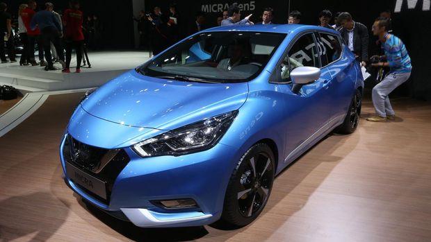 Nissan March gen 5 di Paris Motor Show