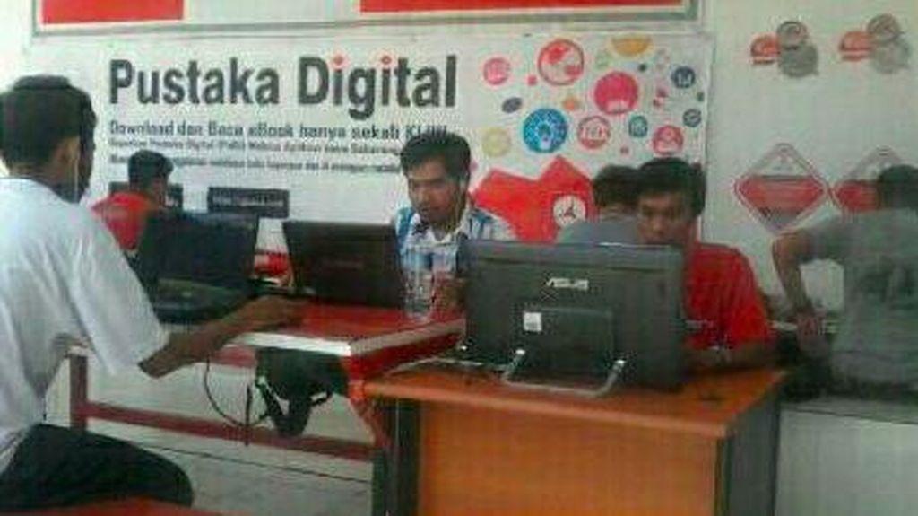 Telkom Tuntaskan Misi 1.000 Pustaka Digital